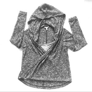 NYOP! Juicy Couture hoodie Sz: XS Black and White